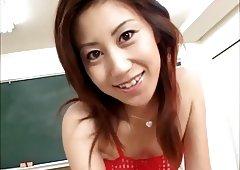 Hot Japanese male female snowball