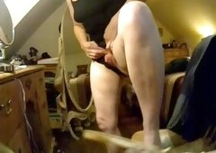 Enjoy huge clit of my mom. Hidden cam