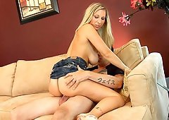 Lethal sex bomb Devon Lee shaging with a horny stud