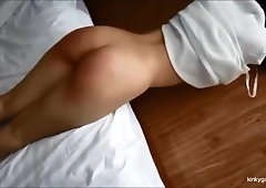 apologise, amateur brunette gives a deep throat blowjob for that