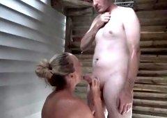 Vanessa Jordin Cumshot in the shower