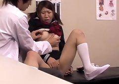 Vanna receives a real asian pussy drilling at the clinic