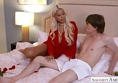 Hypnotizing busty milf Bridgette B seduces friend's husband