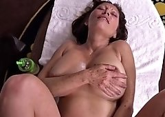 anal fucking a natural big boobs mature milf pov hd
