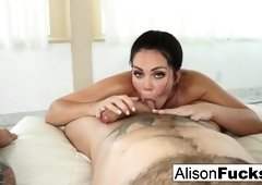 Alison Tyler in Alison Tyler Gives A Sexy Blow Job And Titty Fucking - AlisonTyler