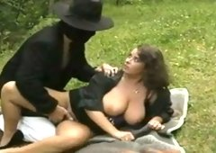 Fisting Big Ass Milf Outdoor