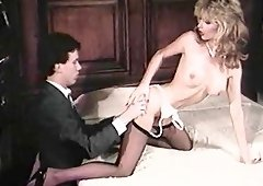 Beverly Bliss in nylon stockings doggystyle ravished in mmf